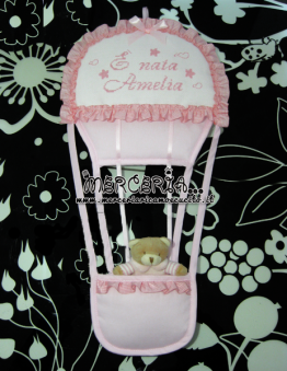 coccarda-fiocco-nascita-mongolfiera-rosa-e-nata-amelia