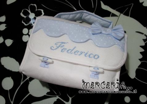 Beauty case little stars celeste per Federico