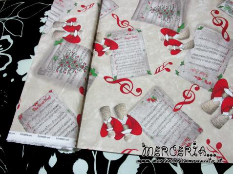 Tessuto cotone natalizio
