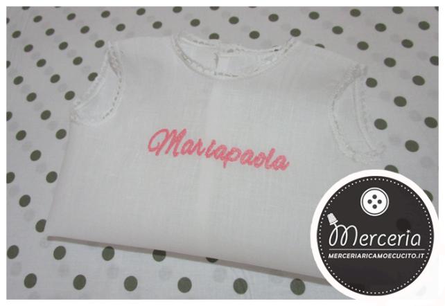 Camicina in lino per Mariapaola