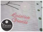 Sacco nascita e asilo coniglio rosa per Ludovica