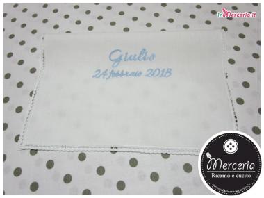 Asciugamano-in-cotone-con-merletto-per-Giulio
