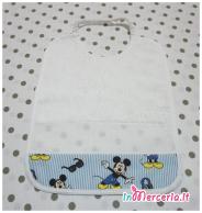 Set asilo Topolino Mickey mouse - Sacchetto, asciugamano, bavetta e tovaglietta