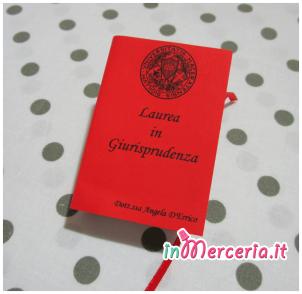 """Bomboniera-portaconfetti-a-forma-di-libro-per-la-Laurea-in-Giurisprudenza-della-""""Dott.ssa-D'Errico"""""""