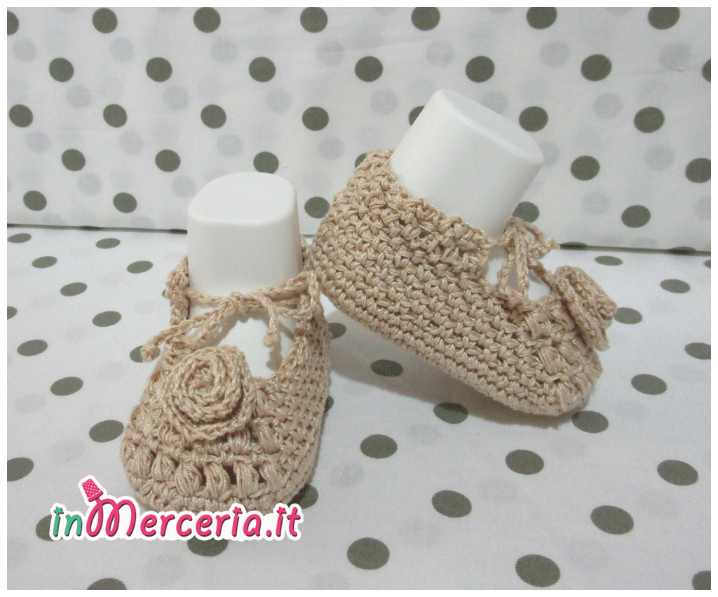 Giacchino E Scarpette Di Cotone Per Neonato 4 Gift