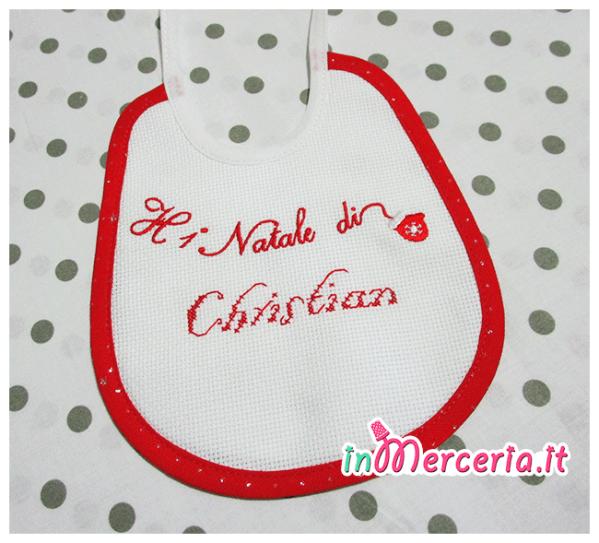 """Bavetta """"Il primo Natale"""" di Christian"""