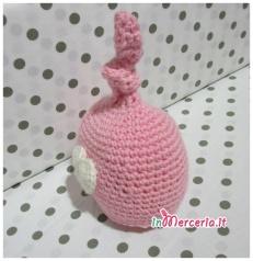 Cappello neonato con cuore