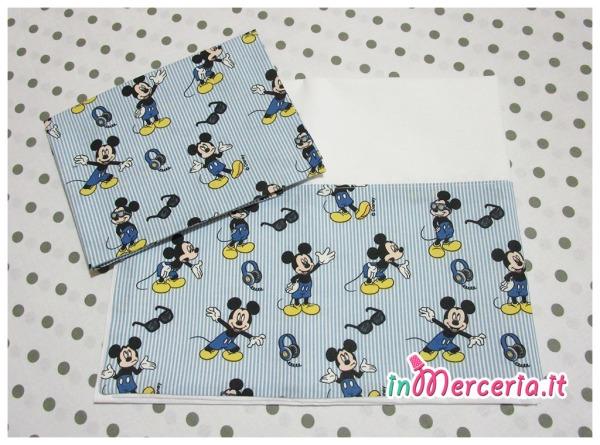 Set lenzuolino Topolino - Mickey Mouse
