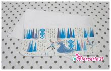 Set asilo Frozen - Sacchetto, asciugamano e bavetta