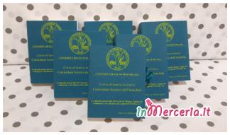 """Bomboniere portaconfetti a forma di libro per Laurea in Lettere della """"Dott.ssa Spatti"""""""