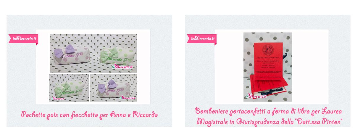 """Galleria - Clicca qui e visualizza gli ultimi articoli pubblicati sul nostro blog """"GIFT - Ricamo e cucito"""""""