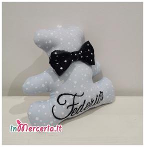 Orsetto personalizzato con nome Federico