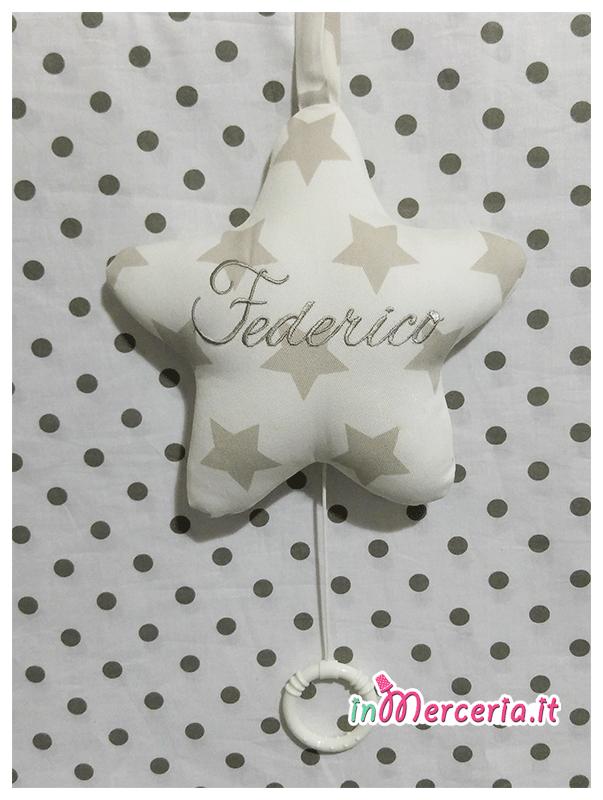 Stella carillon personalizzata per Federico