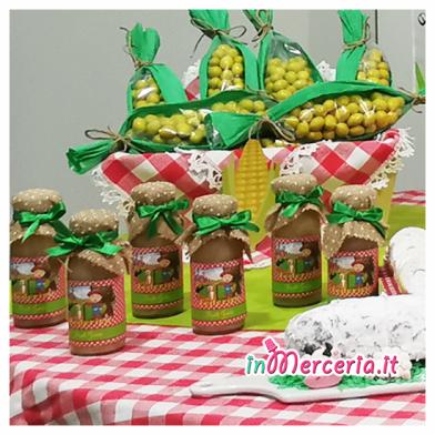 Succo di frutta con etichetta personalizzata per Federico