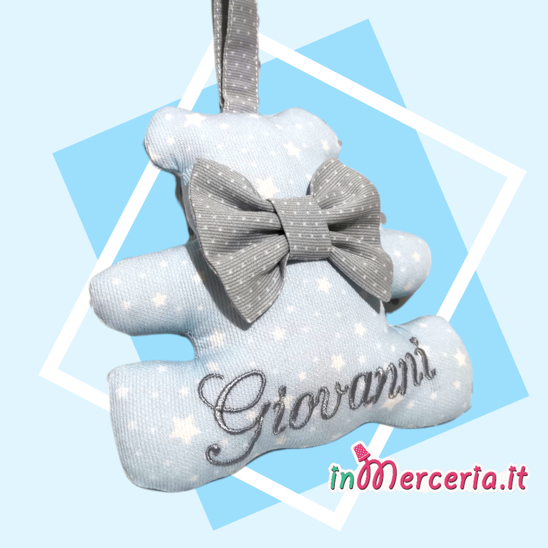 Orsetto personalizzato con nome Giovanni